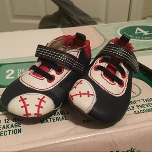 Other - Baby baseball shoes